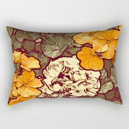 Orange Geranium, Plant of Feminine Healing Rectangular Pillow