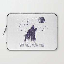 Stay Wild, Moon Child Laptop Sleeve