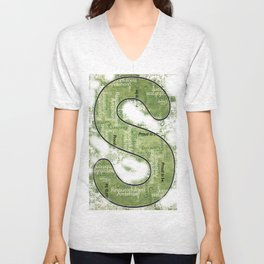 "Proud to be ""S"" Unisex V-Neck"