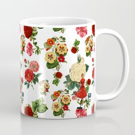 Keep it clean floral collage Coffee Mug