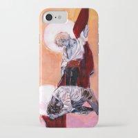 grantaire iPhone & iPod Cases featuring les miseràbles: oreste à jeun et pylade ivre by Daniela Viçoso