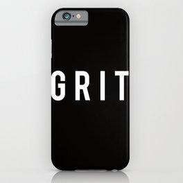 GRIT iPhone Case