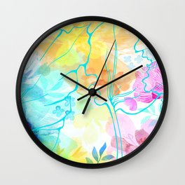 Posie Cluster Wall Clock