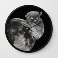 The Tarsius Who Reached His Light Source Wall Clock