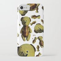 teddy bear iPhone & iPod Cases featuring Teddy-bear by Кaterina Кalinich
