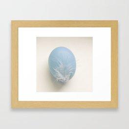 Egg blue Framed Art Print