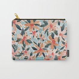 LAHAINA DANCE Tropical Floral Carry-All Pouch