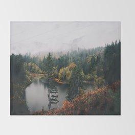 Gillette Lake Throw Blanket