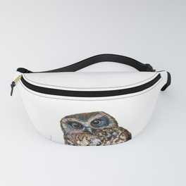 Mrs Ruru, New Zealand Morepork Owl Fanny Pack