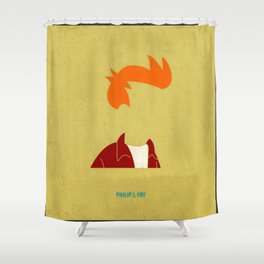 Philip J. Fry Shower Curtain