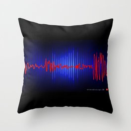 soundscape 26 Throw Pillow