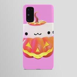 Pumpkin Cat Android Case