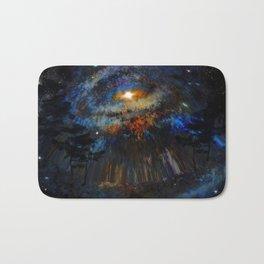 Distorted Galaxy Bath Mat