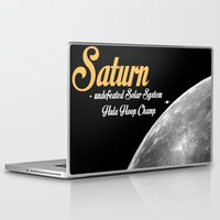 saturn Laptop & iPad Skins featuring Saturn by annaowe