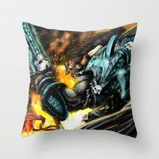 Tauren Dk Throw Pillow