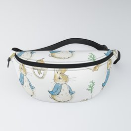 Peter Rabbit Beatrix Potter pattern design Fanny Pack