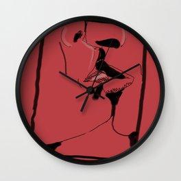 Un baiser Wall Clock