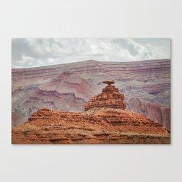 Mexican Hat Rock Canvas Print
