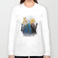 fullmetal alchemist Long Sleeve T-shirts featuring Fullmetal by Witchy
