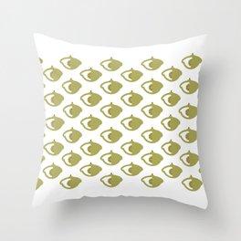 Butter Squash Throw Pillow