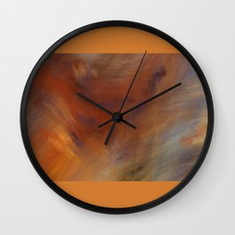 Storm in Space  (A7 B0230) Wall Clock