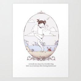 ee cummings - Molly Art Print