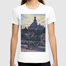 La Cathédrale de Gisors, Paris by Maximilien Luce T-shirt