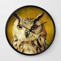elmo Wall Clocks featuring Elmo IV by Astrid Ewing