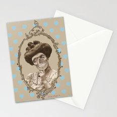 Madame Skull Stationery Cards