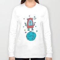 spaceman Long Sleeve T-shirts featuring spaceman by PINT GRAPHICS