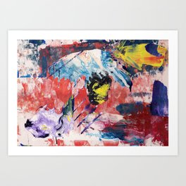 Abstract A Art Print