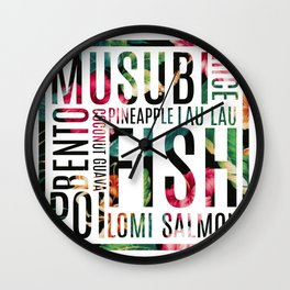 ONO GRINDS Wall Clock