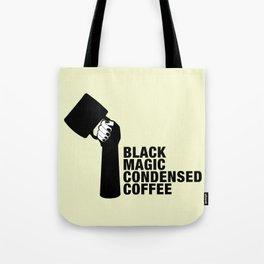 Black coffee Tote Bag