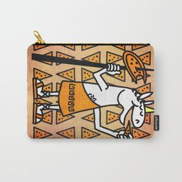 Little Horn Unicorn Pizza Carry-All Pouch