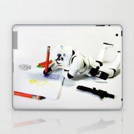 Drawing Droids Laptop & iPad Skin