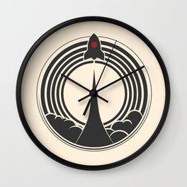 Space Rocket Wall Clock