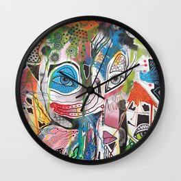 The Point Being Wall Clock