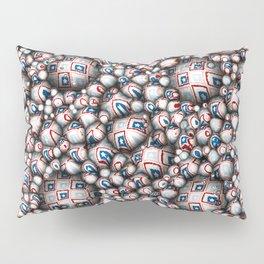 Abstract 3D Stars Pillow Sham