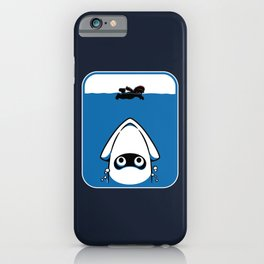 The Great White Blooper iPhone Case
