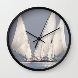 Gliding on the Nile Wall Clock