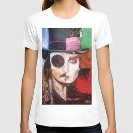 Four Faces of Johnny Depp T-shirt