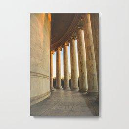 Around the Rotunda Metal Print