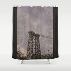 Buddha Bridge Shower Curtain