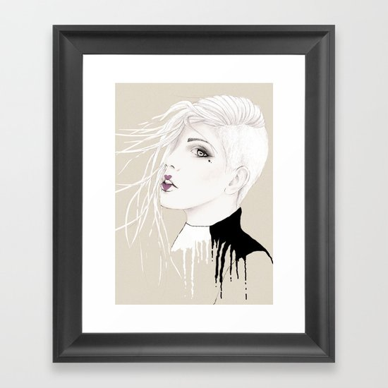 NEOPUNK Framed Art Print
