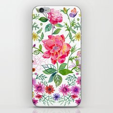 Bowers of Flowers iPhone & iPod Skin