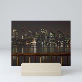 Seattle Lights Mini Art Print