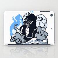 baphomet iPad Cases featuring BAPHOMET by QueenBees