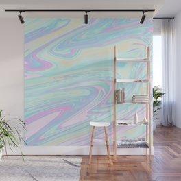 Bubblegum Marble Wall Mural