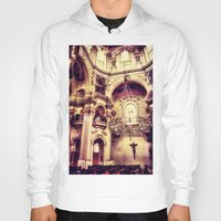 prague Hoodies featuring Prague-Church by jbjart