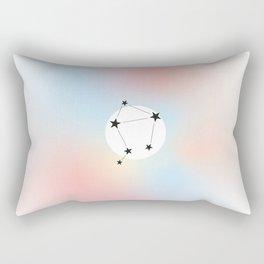 Libra - Zodiac Poster Rectangular Pillow